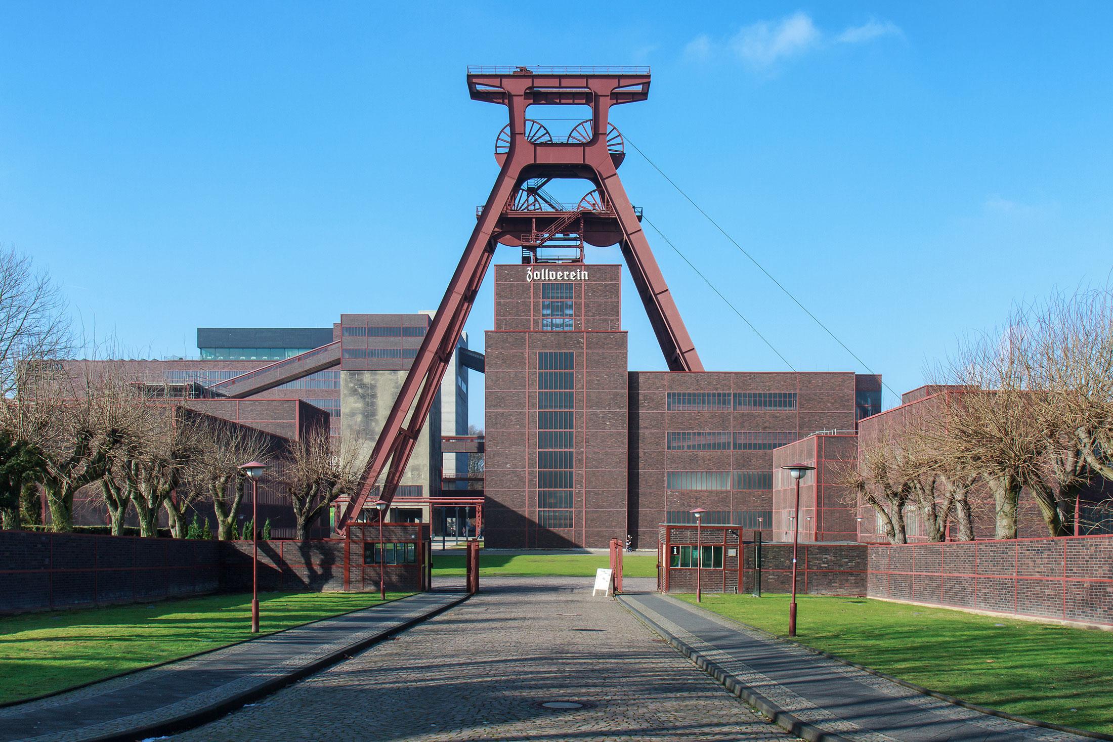 Zeche Zollverein in Essen, NRW